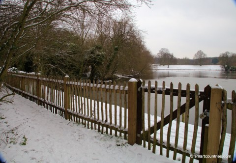 Winter on Hampstead Heath