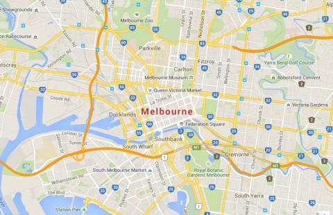 Melbourne Google Map