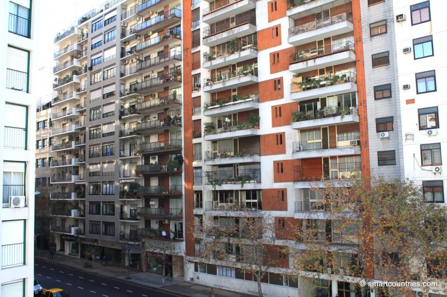 Avenida Pueyrredón Buenos Aires Argentina