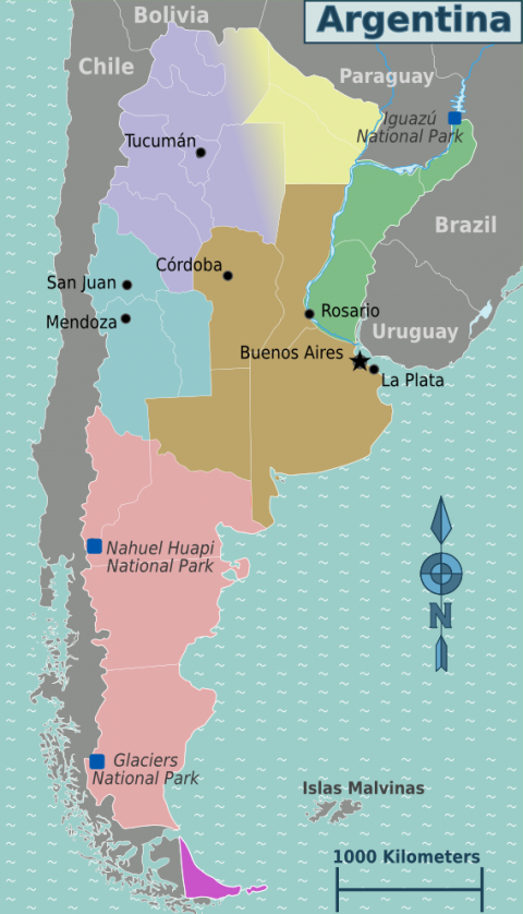 Regions of Argentina