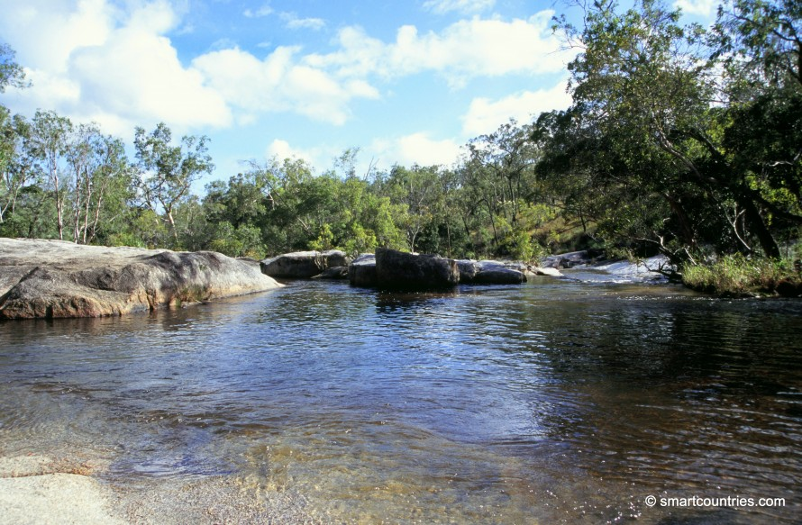 Davies Creek Pool Queensland