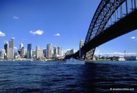 Sydney Harbour Bridge & City