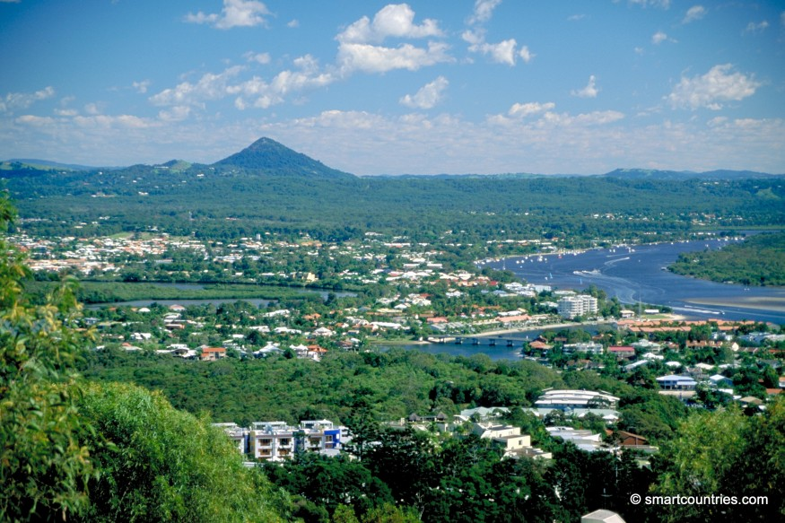 Sunshine Coast Aerial View