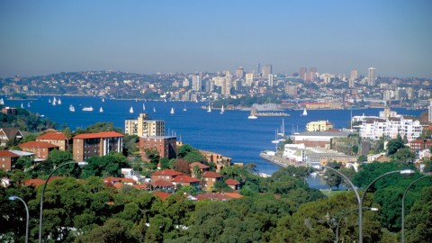 View from North Sydney