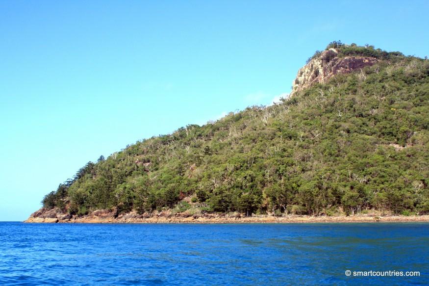 Passage Peak and Coastline