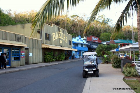 Main Road Hamilton Island