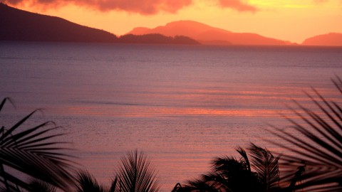 Sunrise on Hamilton Island