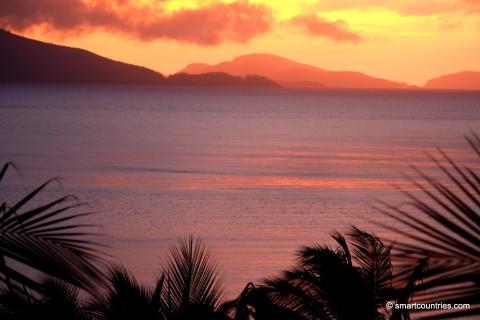 Sunrise on Hamilton Island