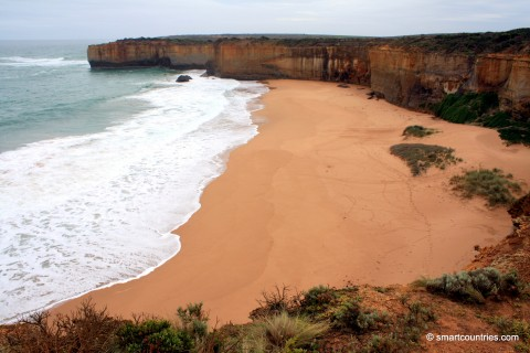 Beach in Port Campbell National Park