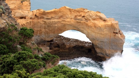 Natural Arch at Port Campbell