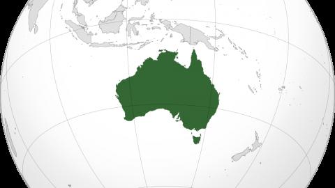 Australia Location Map