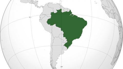 Brazil Location Map