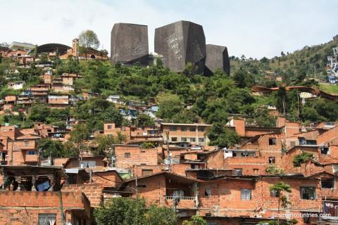 View of Santo Domingo Medellin