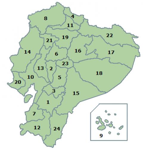 Provinces of Ecuador