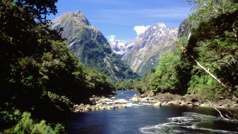 Arthur River Fiordland