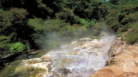 Thermal Stream Frying Pan Lake
