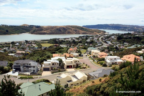 Papakowhai View of Porirua