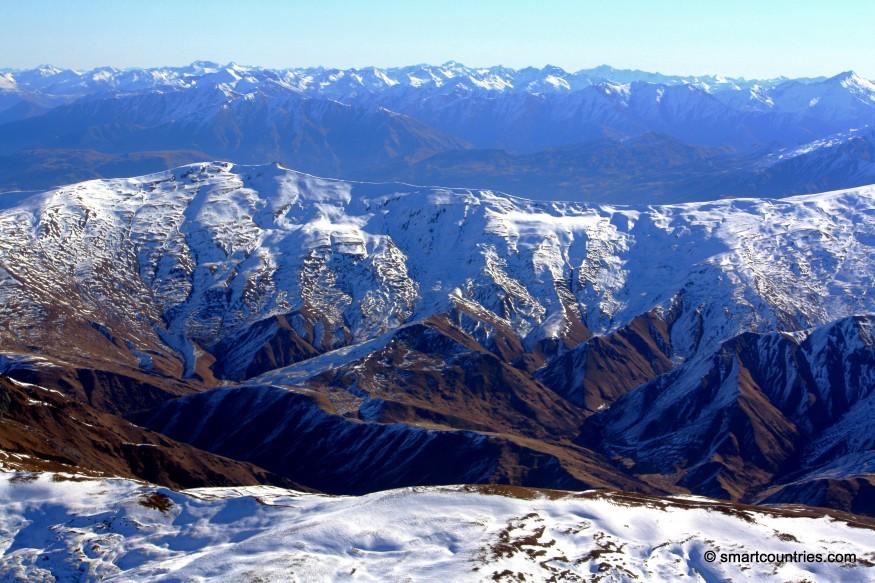 Mountains near Queenstown New Zealand