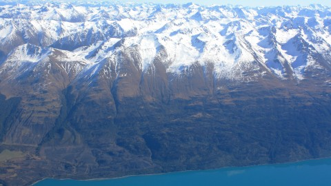 Queenstown Mountains & Lake