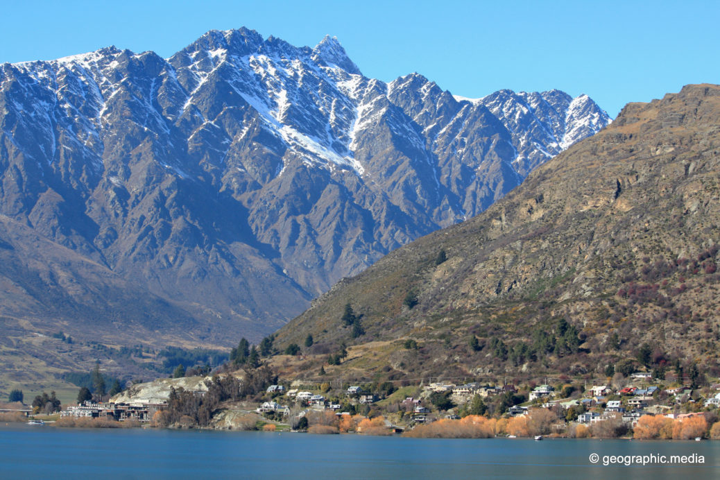 Mountain Views from Frankton Arm Queenstown