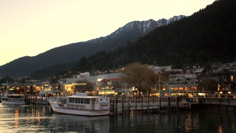 Night View of Queenstown