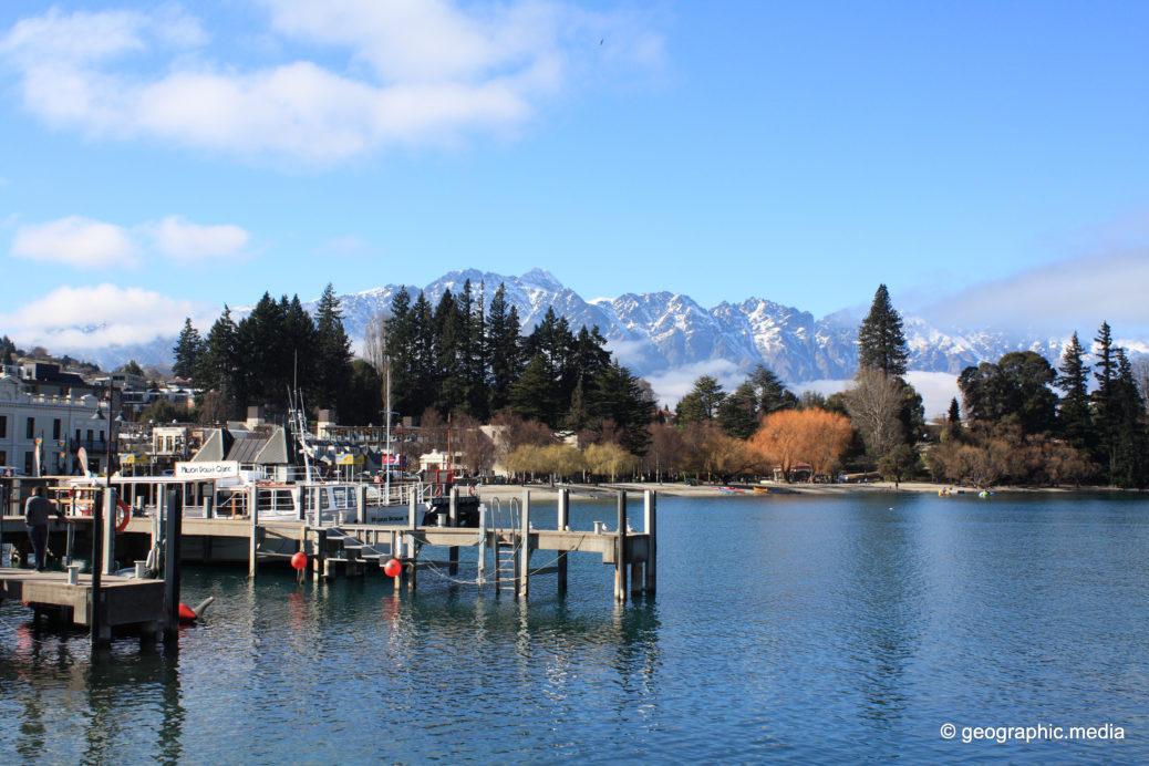 Queenstown Waterfront New Zealand