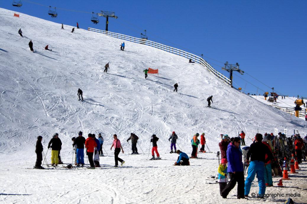 Coronet Peak Ski Field New Zealand