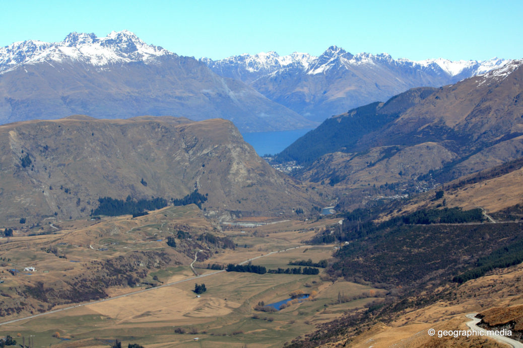 Arthurs Point Queenstown from Coronet Peak