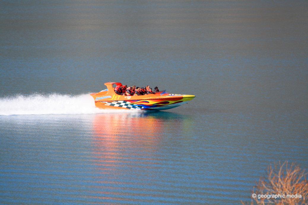 Jet Boat Lake Wakatipu