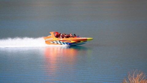 Jet Boat on Lake Wakatipu