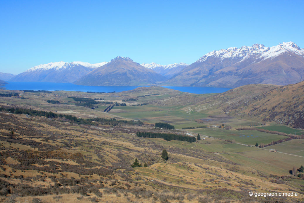 View from Windy Point Queenstown