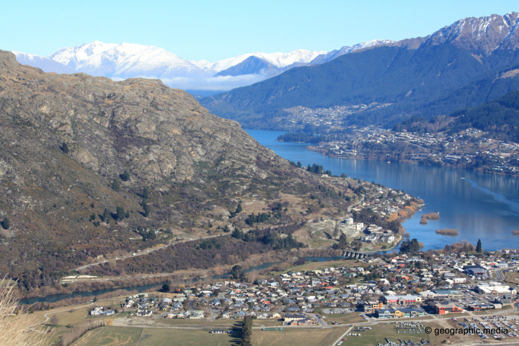 View from the Remakables Queenstown