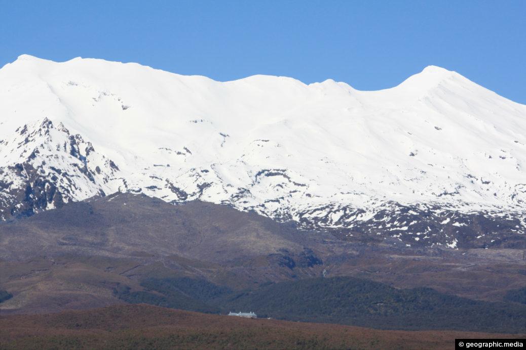 Mount Ruapehu and Chateau