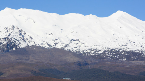 Mount Ruapehu and Chateau