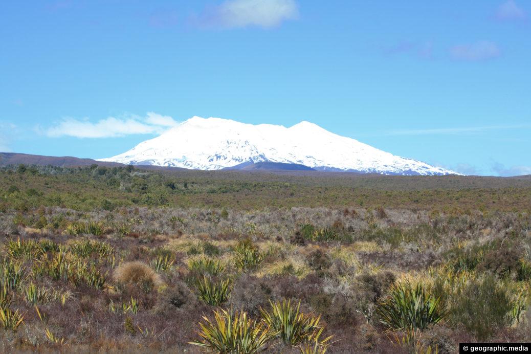 Mount Ruapehu and Plain